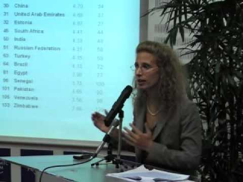 Global Competitiveness Report 2008-2009 - Presentation
