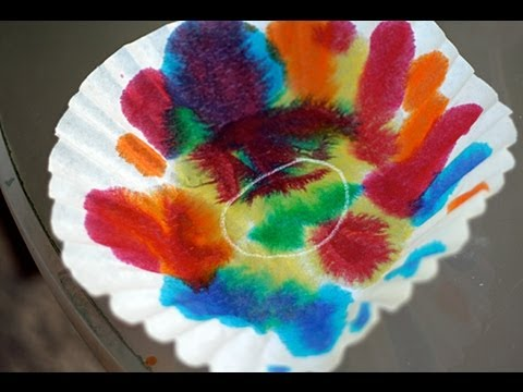 Dipping and Dying Color Art Activity for Children | Cullen's Abc's