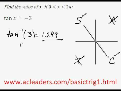Solving simple trig equation (in radians) - EASY!!!! (pt.8)