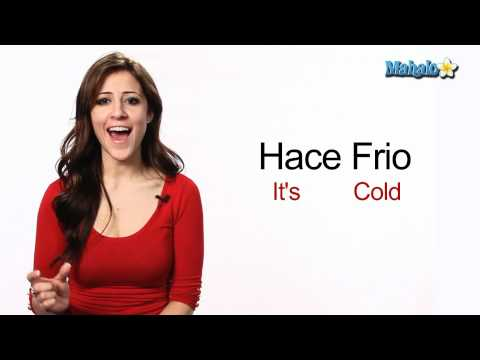 "How to Say ""It's Cold"" in Spanish"