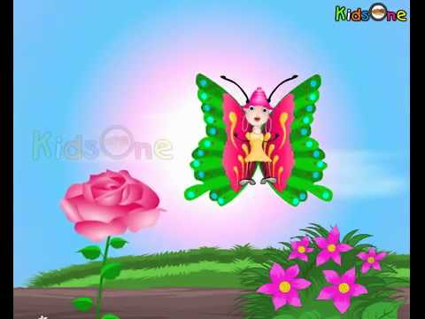 English Poems kids rhymes Butterfly.Mp4