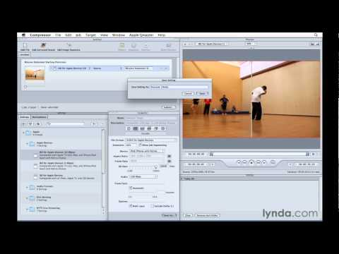 How to encode video for Keynote | lynda.com tutorial