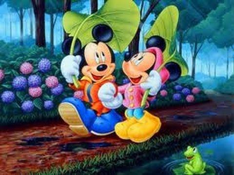 Cartoon - Mickey & Minnie Mouse