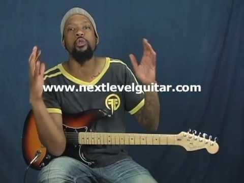 AC/DC Cult Thin Lizzy style rock rhythm guitar lesson instructional video