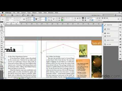 InDesign: Working with motion paths| lynda.com tutorial