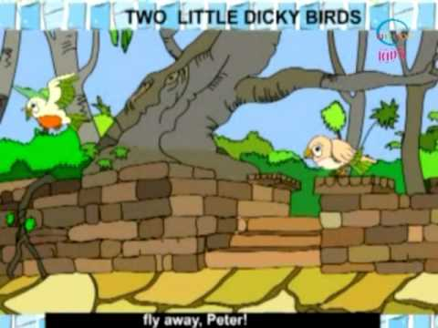 Rhymes and Alphabet - Two Little Dicky Birds - Creative Learning for Kids