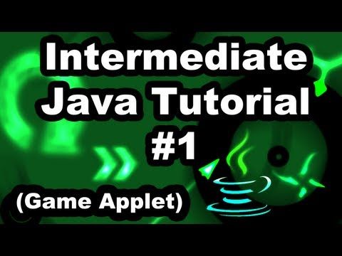 Learn Java 2.1- Game Programming -Creating a Web Applet