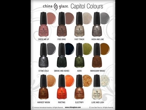 China Glaze Hunger games & NAKED palettes Spring haul