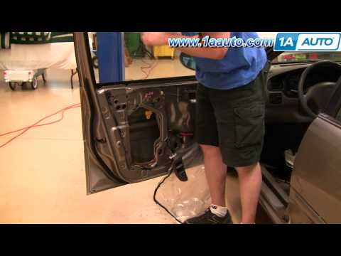 How to Install Replace Power Window Regulator Without Motor Nissan Altima 98-01 1AAuto.com