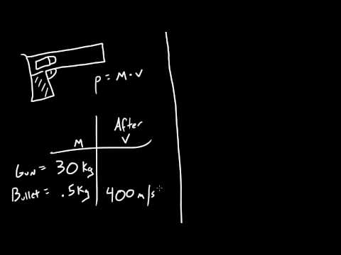 Physics Lecture - 25 - Calculating Kickback Speed