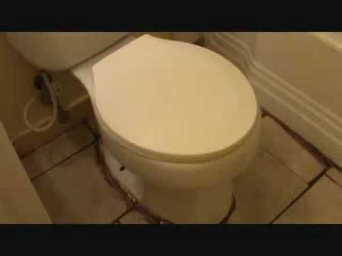 "How to install a toilet: what ""not"" to do"