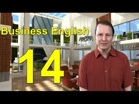 Learn English with Steve Ford - Business English 14 - Writing E-mails