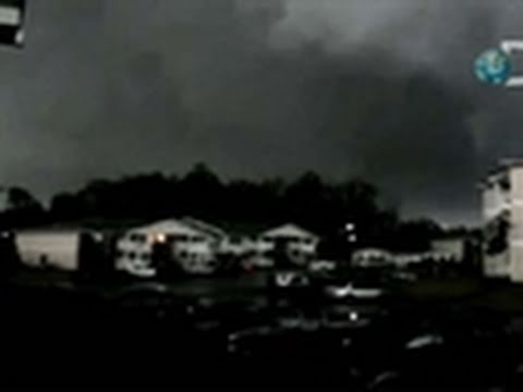 Tornado Rampage 2011- Just Barely Missed