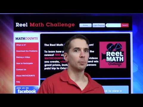 Video competition: Reel Math Challenge Wants YOU!