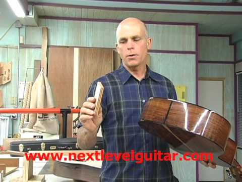 Interview with a Luthier part 4 hand made guitar craftsman tools used finish classical woods lesson