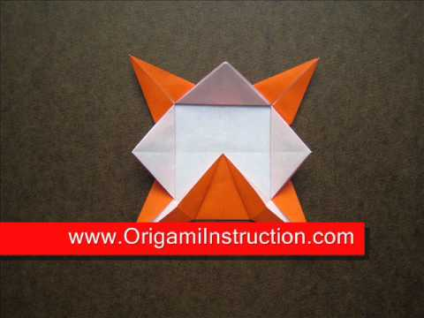 How to Fold Origami Coaster - OrigamiInstruction.com
