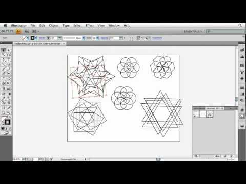 Adobe Illustrator CS4 Advanced Apply Effects to Other Shapes