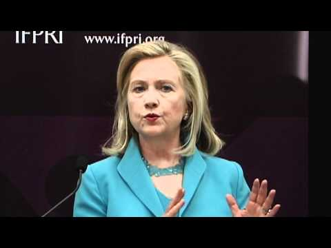 Secretary Clinton on Food Security: Collaborative Efforts are Saving Lives