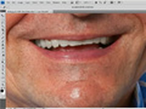 Nice white teeth - Photoshop quick tip - Week 60