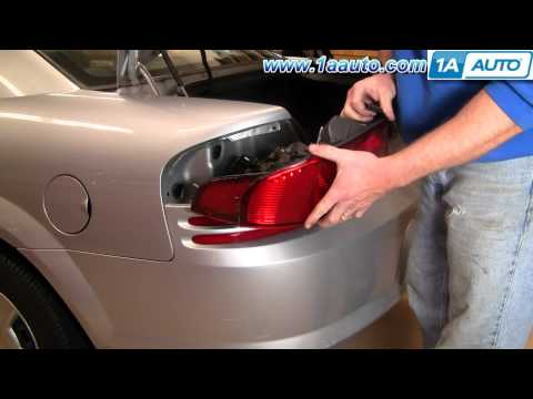 How To Install Replace Change Broken Taillight and Bulb Dodge Stratus 01-06 1AAuto.com