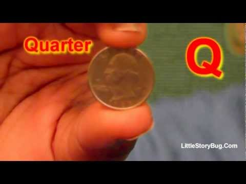 Preschool Activity - Q is for Quarter - Littlestorybug