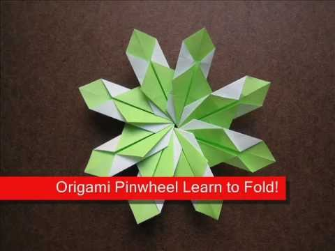 How to Fold Origami Modular Pinwheel - OrigamiInstruction.com