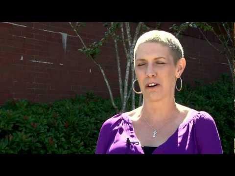 Breast cancer survivor Rachel Midgett shares her thoughts on the Moon Shots Program