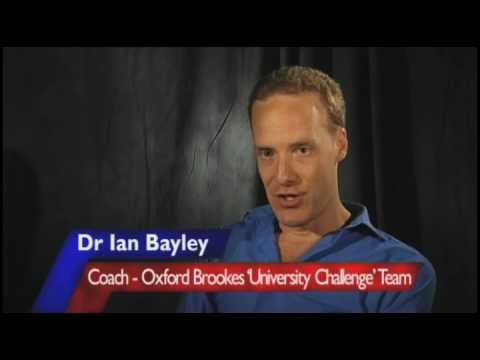 Follow the challenge - Oxford Brookes on University Challenge