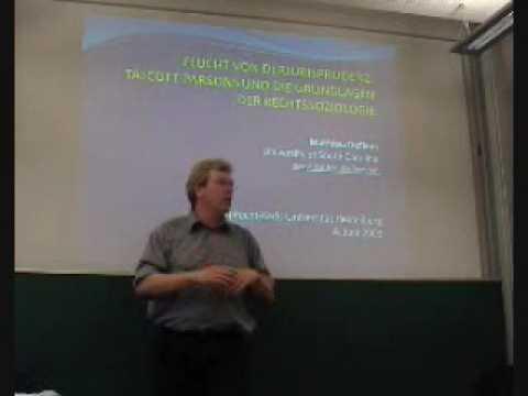 Talcott Parsons und die Rechtssoziologie (1/4), Mathieu Deflem (Heidelberg 2009)