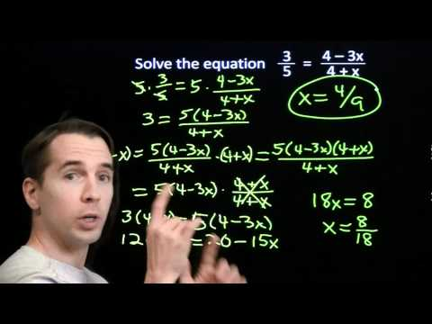Art of Problem Solving: Linear Equations in Disguise Part 2