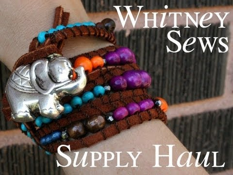 Whitney's DIY Wrap Bracelet Supply Haul