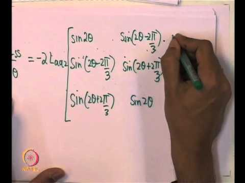 Mod-01 Lec-14 Modeling of Synchronous Machines. dq0 transformation (Contd.)