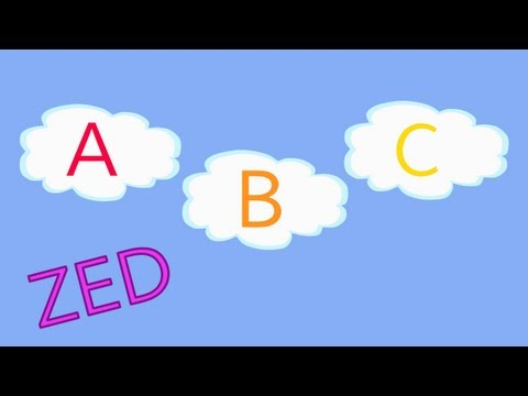 ABC Song in the Clouds (ZED version)