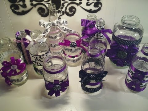 Recycle and Decorate JARS for storage