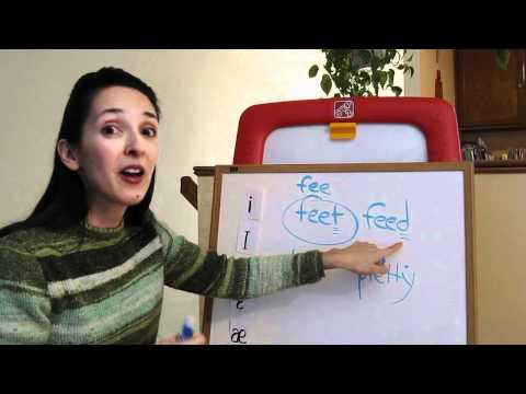 Pronunciation of English Vowel Sounds 2 - Front Vowels, Part 2 (No Captions)