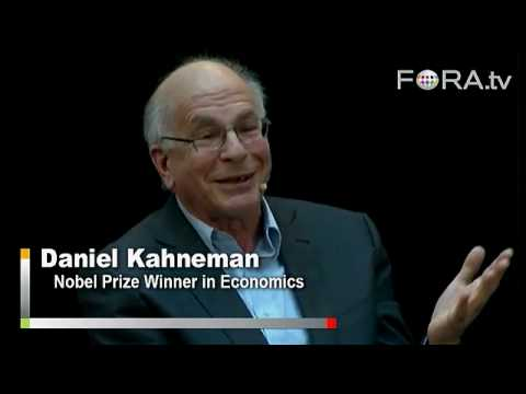 How Greenspan's Framework Went Awry - Daniel Kahneman