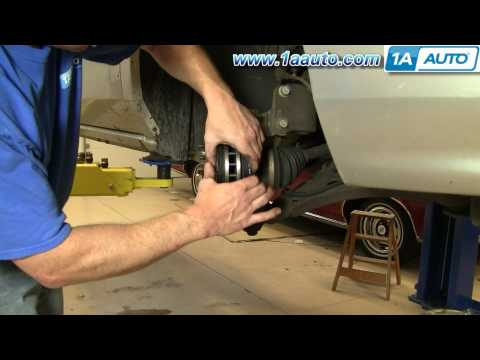 How To Install Replace Front Brake Pads Rotors Regal Century Grand Prix Venture 1AAuto.com