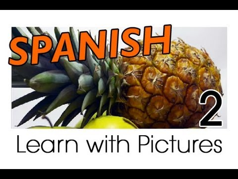Learn Spanish - Spanish Fruit Vocabulary