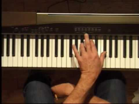Piano Lesson - F#/Gb Major Triad Inversions (Left Hand)