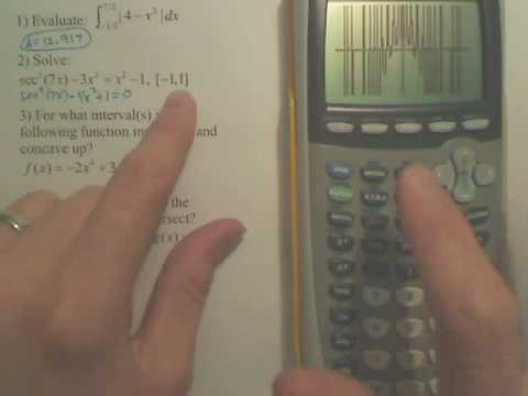 Solving on Calculator