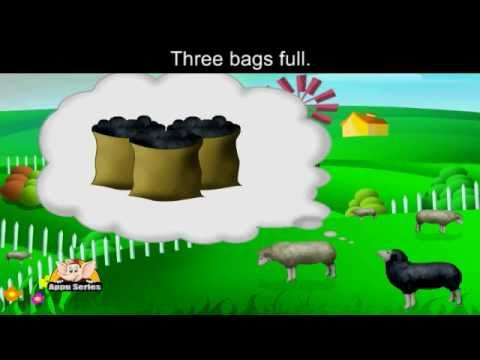 Baa Baa Black Sheep with Lyrics - Nursery Rhyme‬