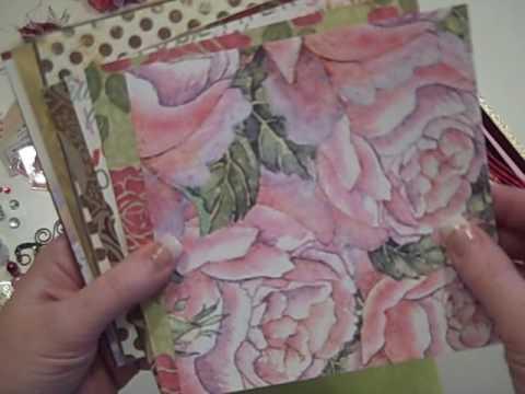 Eclectic Valentine Mini Album Kit