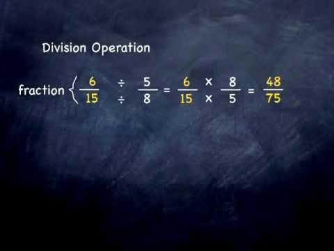 Arithmetic Fractions 03