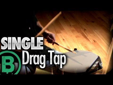 Single Drag Tap - Drum Rudiment Lessons