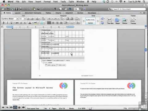 Microsoft Word 2011 for Mac - Introduction