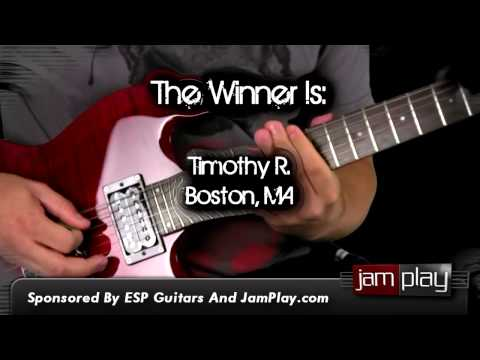 ESP GUITAR CONTEST WINNER