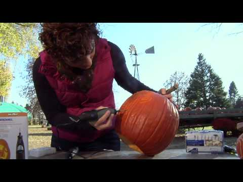 How to Carve a Pumpkin with a Dremel