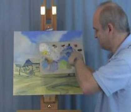 Oil Painting Lesson - Presdient's Putt Part 2