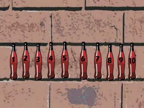 Ten Bottles on the Wall - Math Song for Children