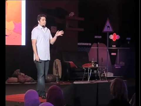 TEDxDeadSea - Amer Kokh - A piece of animation business